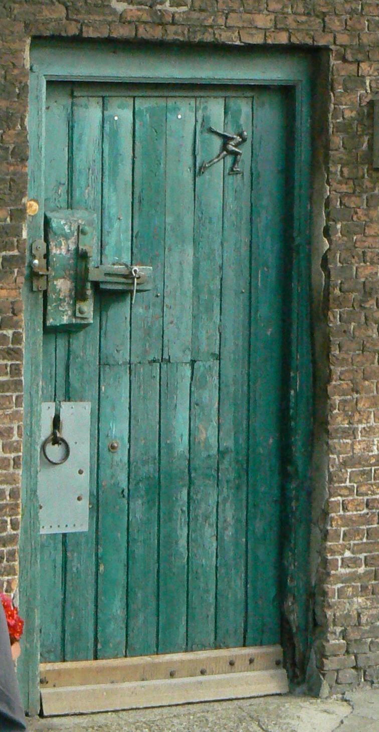 De Vlietwoning - de oude staldeur